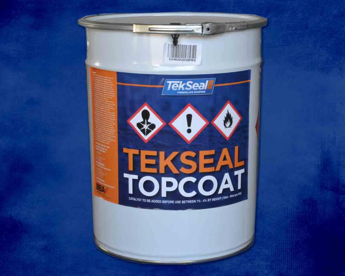TekSeal BBA Fire Retardant Flowcoat - 20Kg