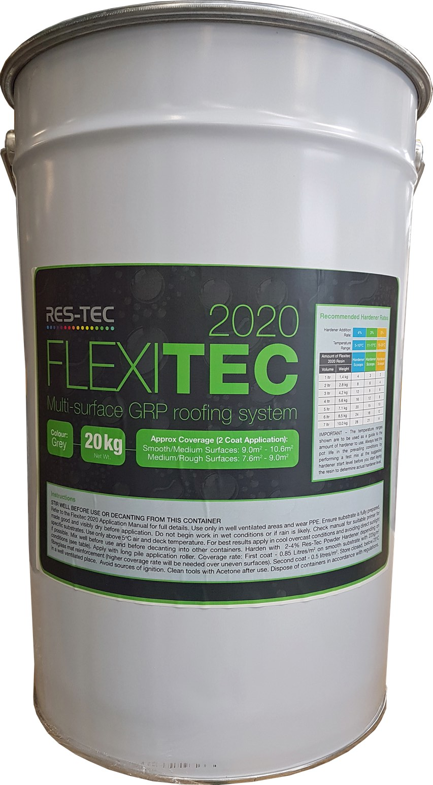 Flexitec 2020 Resin & Topcoat