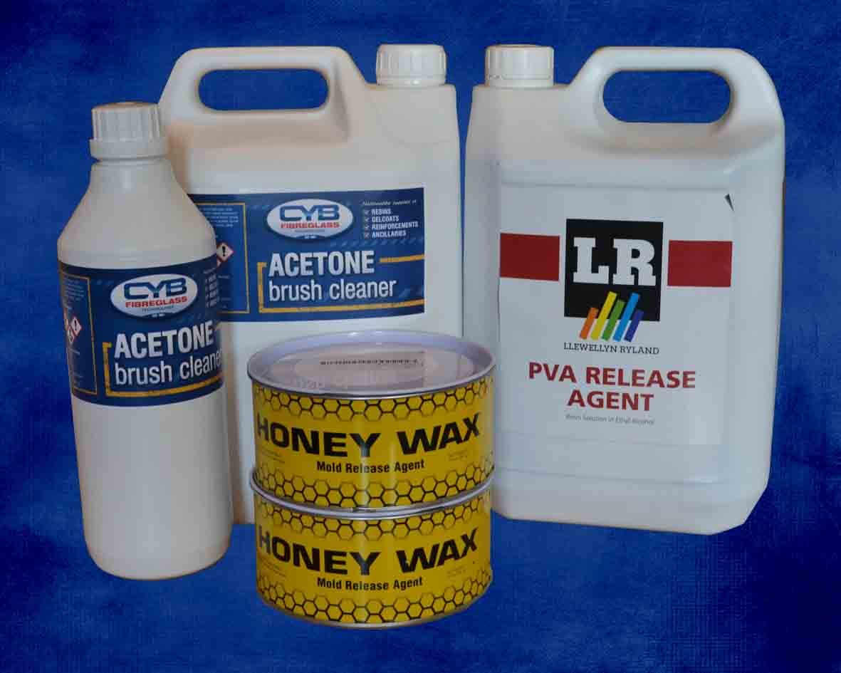 Acetone, Release Agents & Mould Release Wax