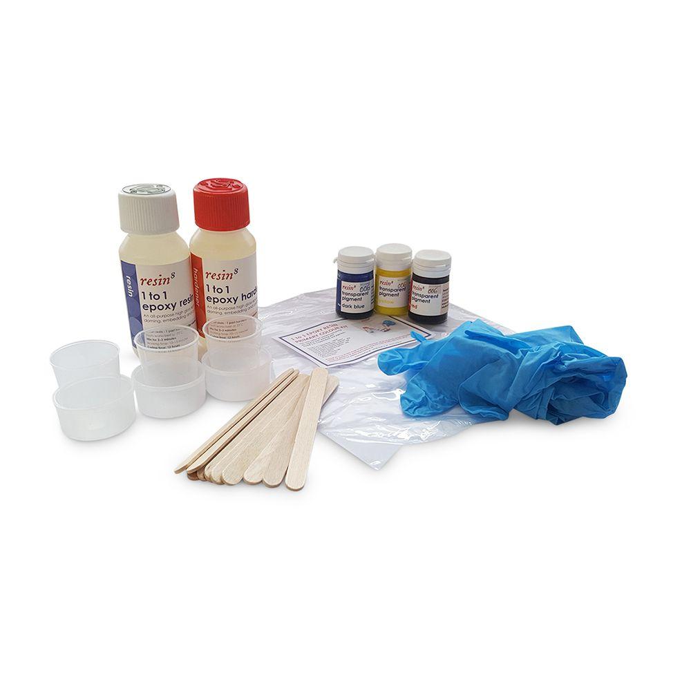 Resin8 1 to 1 Epoxy Resin Primary Colour Kit